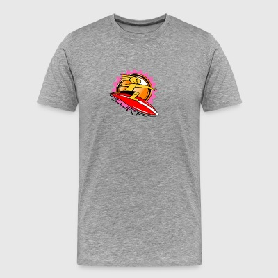 FUNNY SURFER - ZURF - Men's Premium T-Shirt