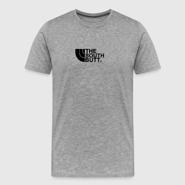 The South Butt Northface Parody T Shirts - Men's Premium T-Shirt