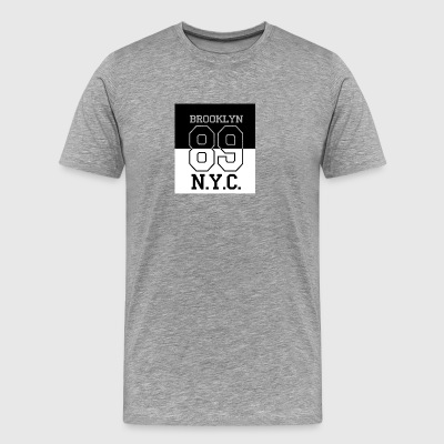 Brooklyn 89 NY - Men's Premium T-Shirt