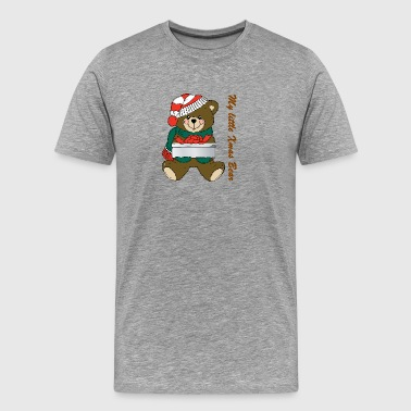 Isle of Xmas Bear - Men's Premium T-Shirt