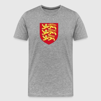 Royal Arms of England - Men's Premium T-Shirt