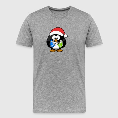 Christmas Pinguin - Men's Premium T-Shirt