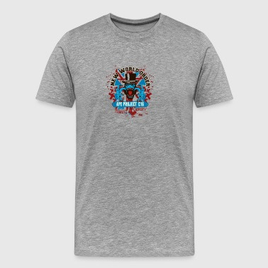 new_york_order_angry_chimp - Men's Premium T-Shirt