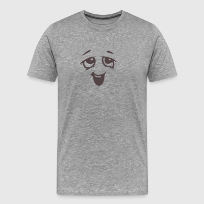 Relaxed face - Emotional face - Men's Premium T-Shirt