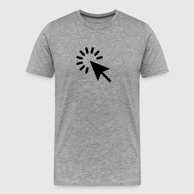 Click Arrow - Men's Premium T-Shirt