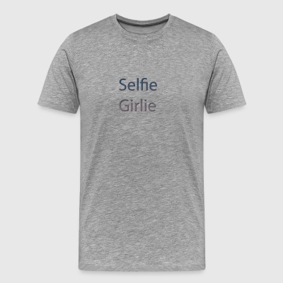 selfie-girlie - Men's Premium T-Shirt