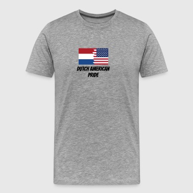 Dutch American Pride - Men's Premium T-Shirt