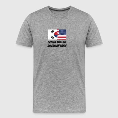 South Korean American Pride - Men's Premium T-Shirt
