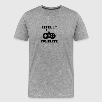 Level 17 Complete 17th Birthday - Men's Premium T-Shirt