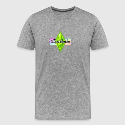 #TeamLovely Rainbow Logo - Men's Premium T-Shirt