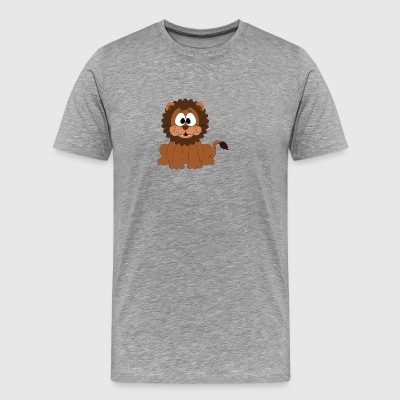 Lion Comic Style - Men's Premium T-Shirt