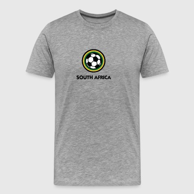 South Africa Football Emblem - Men's Premium T-Shirt