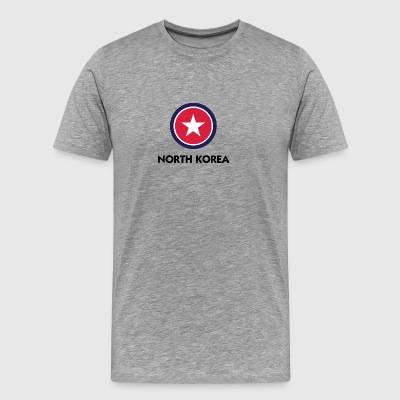A Star For North Korea - Men's Premium T-Shirt