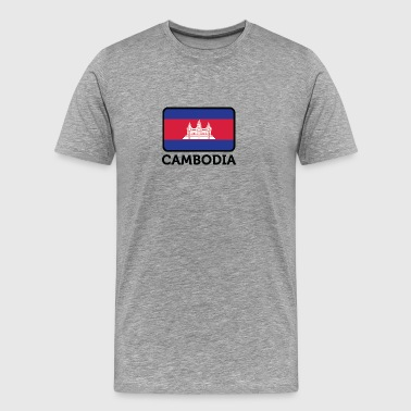 National Flag Of Cambodia - Men's Premium T-Shirt