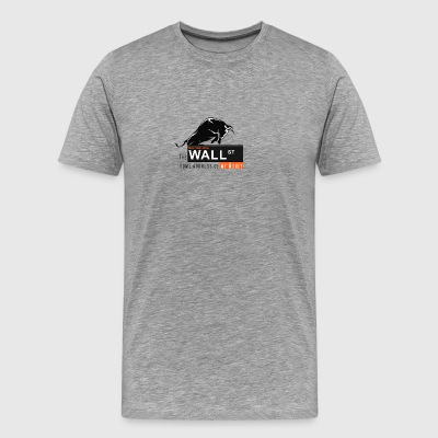Wall St. - NYSE - Men's Premium T-Shirt