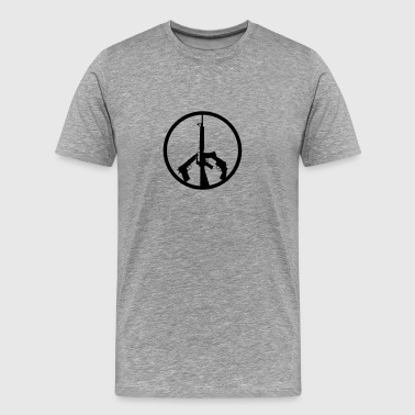 PEACE GUNS - Men's Premium T-Shirt