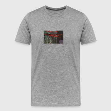 Red Branched - Men's Premium T-Shirt