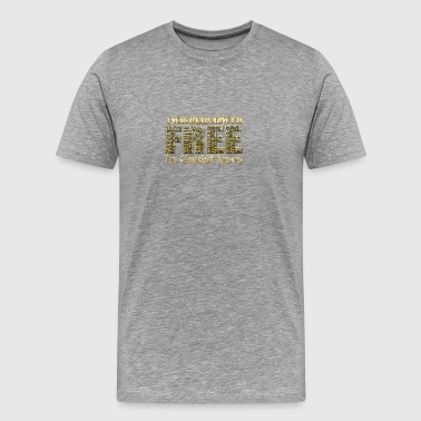 Free From Greed - Men's Premium T-Shirt