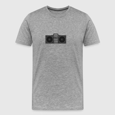 Flat Stereo Design - Men's Premium T-Shirt