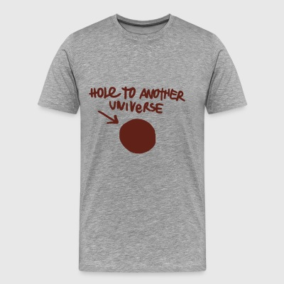 Hole to Another Universe - Men's Premium T-Shirt