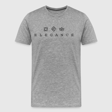 CREATIVE DESIGN || ELEGANCE - Men's Premium T-Shirt