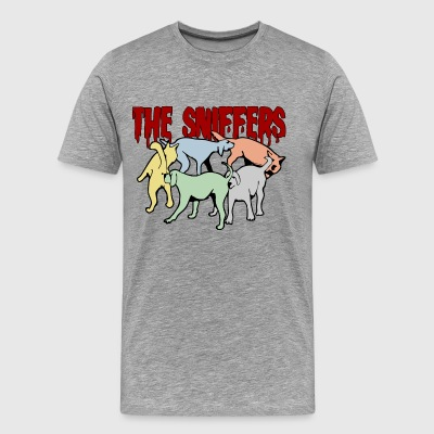 The Sniffers with color - Men's Premium T-Shirt