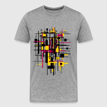 construction area - Men's Premium T-Shirt