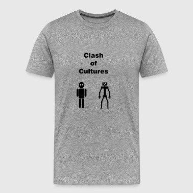 Clash of Cultures - Men's Premium T-Shirt