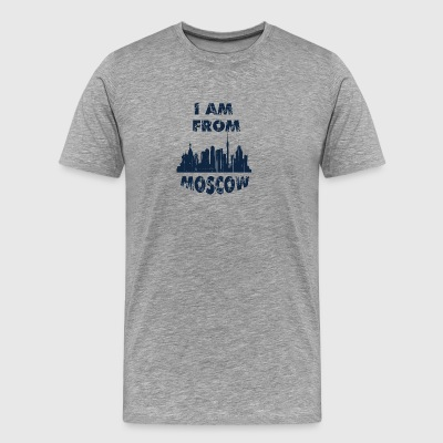 Moscow I am from - Men's Premium T-Shirt