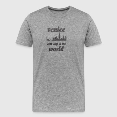 Venice Best city in the world - Men's Premium T-Shirt