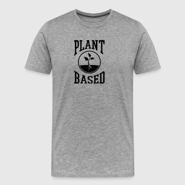 vegan t shirt plant based - Men's Premium T-Shirt