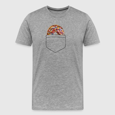 doughnut pocket - Men's Premium T-Shirt