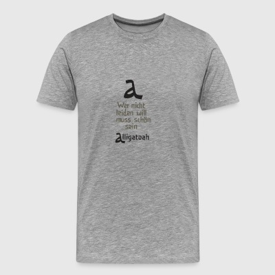 Alligatoah - Men's Premium T-Shirt