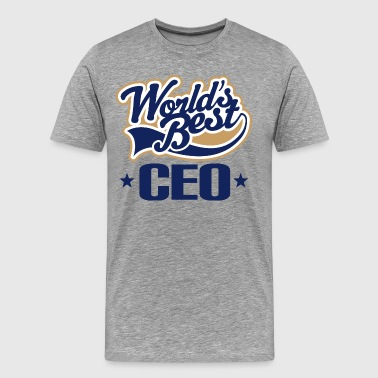 Worlds Best CEO Boss Gift - Men's Premium T-Shirt
