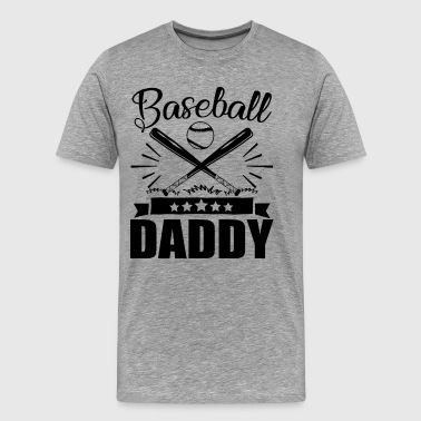 Baseball Daddy Shirt - Men's Premium T-Shirt