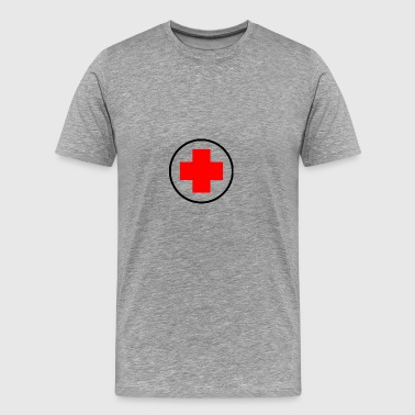 red cross - Men's Premium T-Shirt