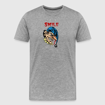 EVIL_CLOWN_37_smile - Men's Premium T-Shirt