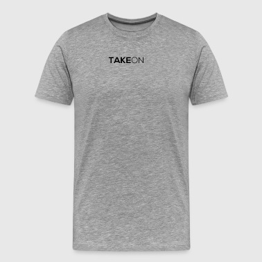 Takeon Logo Simple - Men's Premium T-Shirt