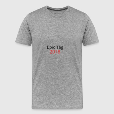 Epic Tag Word Logo - Men's Premium T-Shirt