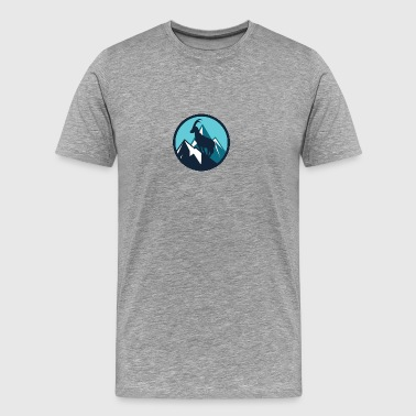 Mountain Animal - Men's Premium T-Shirt