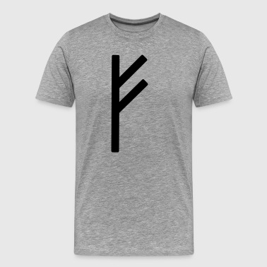 Fé Runic Wealth - Men's Premium T-Shirt