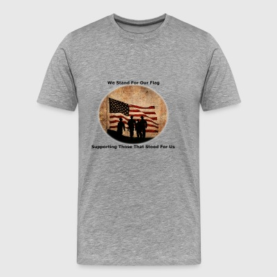 Stand for The Flag - Men's Premium T-Shirt