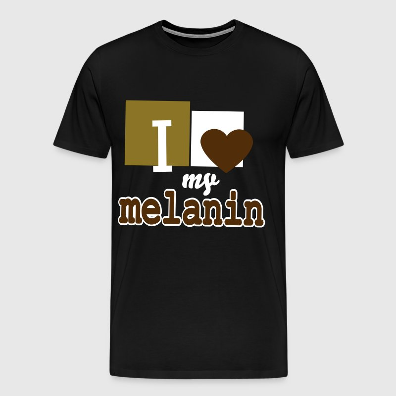 I Love My Melanin - Men's Premium T-Shirt