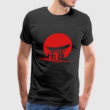 Japanese Sun - Men's Premium T-Shirt