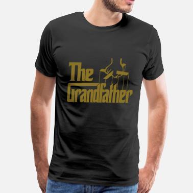 d917ff48 Funny Grandfather The Grandfather - Men's Premium T-Shirt