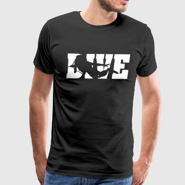 Diving: dive - Men's Premium T-Shirt