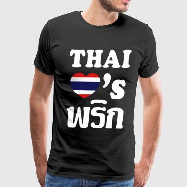 THAI LOVES PHRIK (CHILI) - Men's Premium T-Shirt