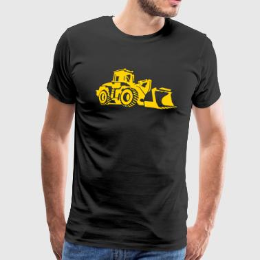 bulldozer - Men's Premium T-Shirt