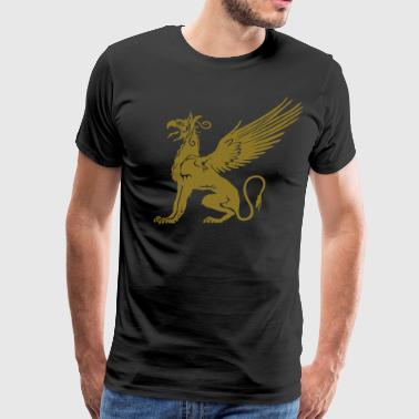 GRYPHON OF ANDROS - Men's Premium T-Shirt