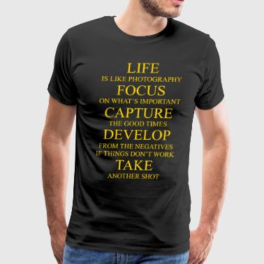 Photography Design - Men's Premium T-Shirt